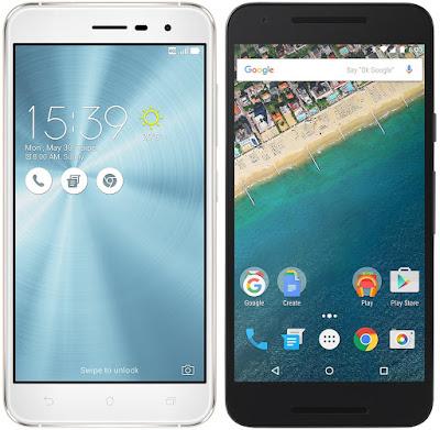 Asus ZenFone 3 (ZE520KL) vs Nexus 5X