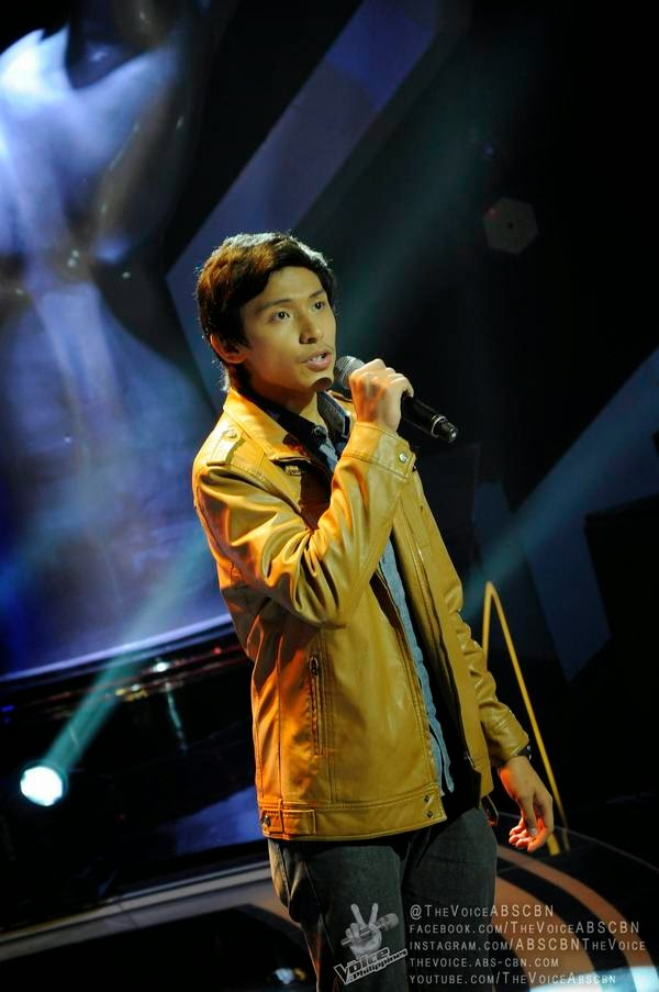 Mark Avila sings 'Ordinary People' on 'The Voice PH'