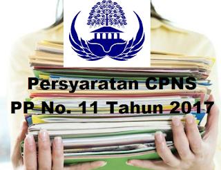 persyaratan pendaftaran CPNS 2017
