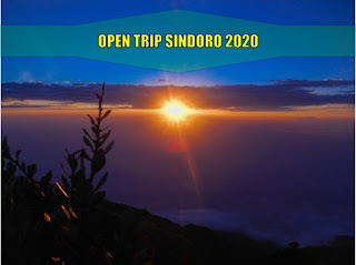 Open Trip Sindoro Februari Maret April Mei Juni Juli Agustus September Oktober November Desember 2021
