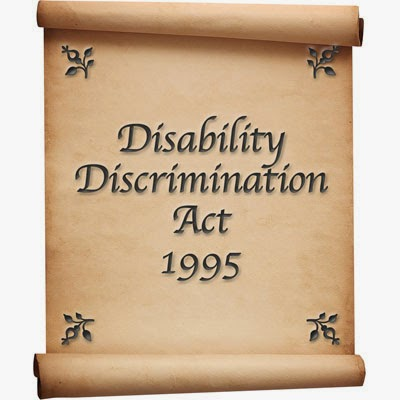 Image result for 1995 disability act launch