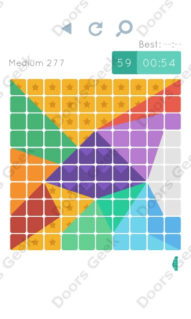 Cheats, Walkthrough for Blocks and Shapes Medium Level 277