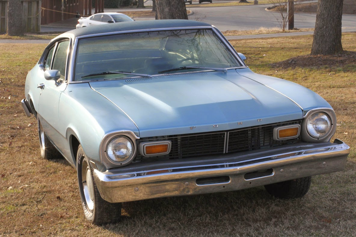 All American Classic Cars: 1976 Ford Maverick 2-Door Sedan
