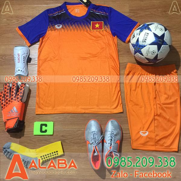 Áo Đội Tuyển Việt Nam 2019 Training Màu Cam