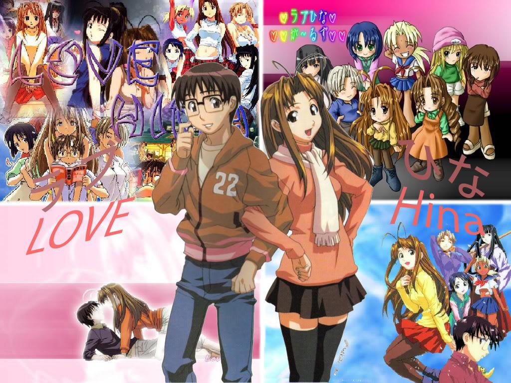 Curious Wall Photos Anime Girl Love Hina Wallpaper