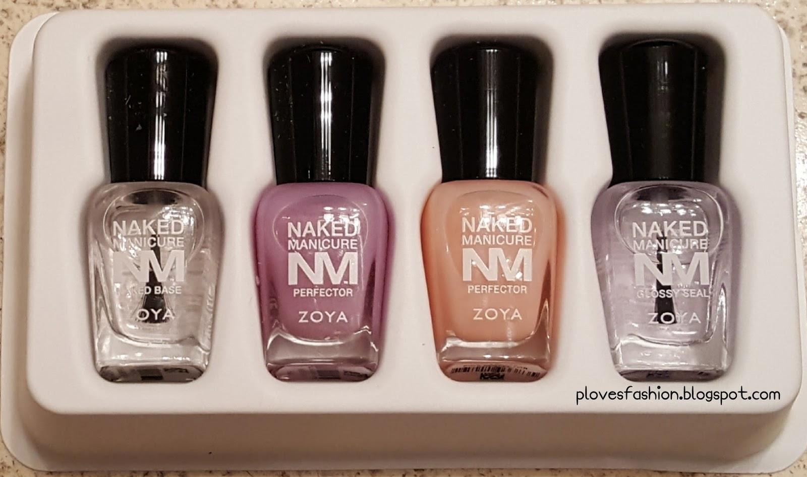Beauty and More by Pilar : Zoya Naked Manicure