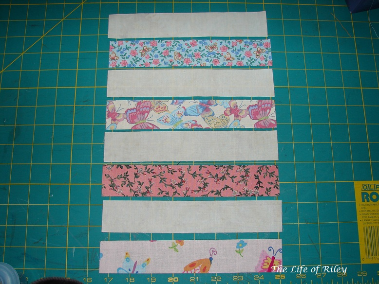 The Life Of Riley Split Rail Fence Baby Quilt