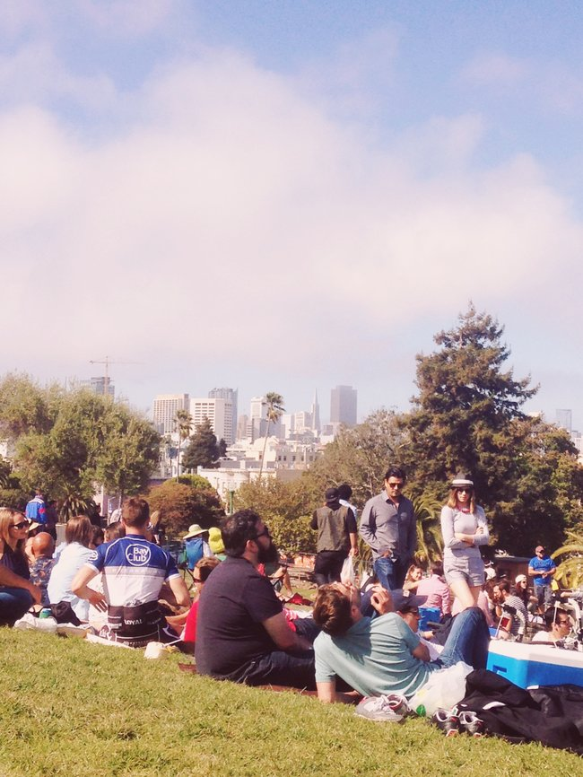 free things to do in San Francisco dolores park