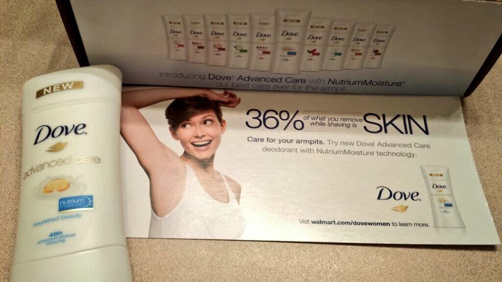 Dove New Advanced Care Deodorant Review- #RaiseYourArms