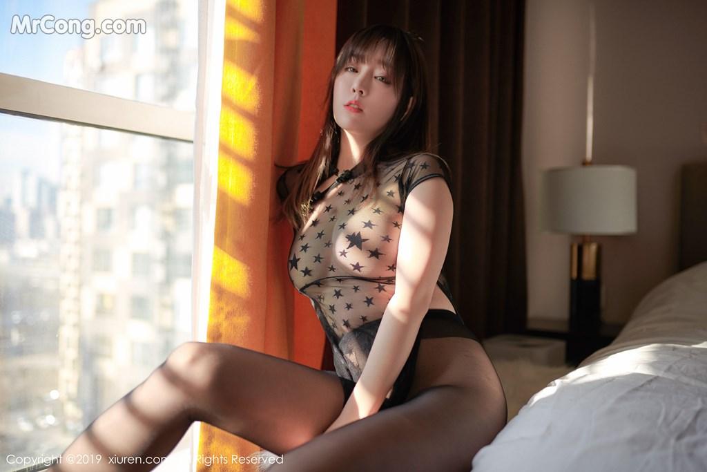 Image XIUREN-No.1363-Wang-Yu-Chun-MrCong.com-003 in post XIUREN No.1363: Wang Yu Chun (王雨纯) (42 ảnh)