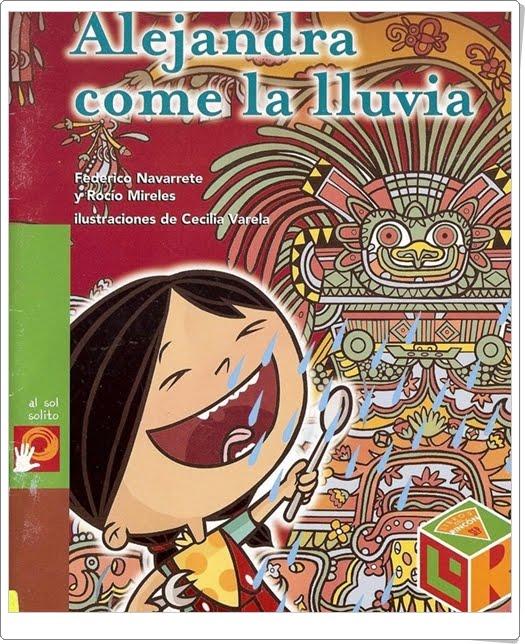 """""""Alejandra come la lluvia"""" de Federico Navarrete y Rocío Mireles (Cuentos en Power Point)"""