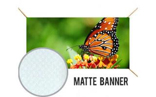 Matte Banner Irvine California