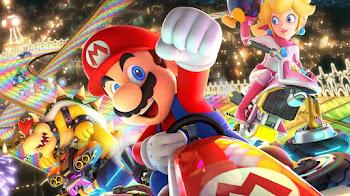 La saga de juegos de Mario kart