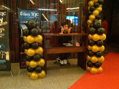 Balon dekor, Standing Balon