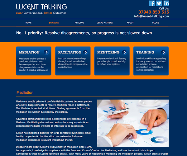 http://www.lucent-talking.com/services