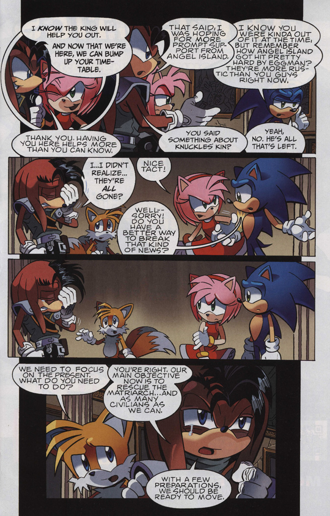 Read online Sonic The Hedgehog comic -  Issue #243 - 17