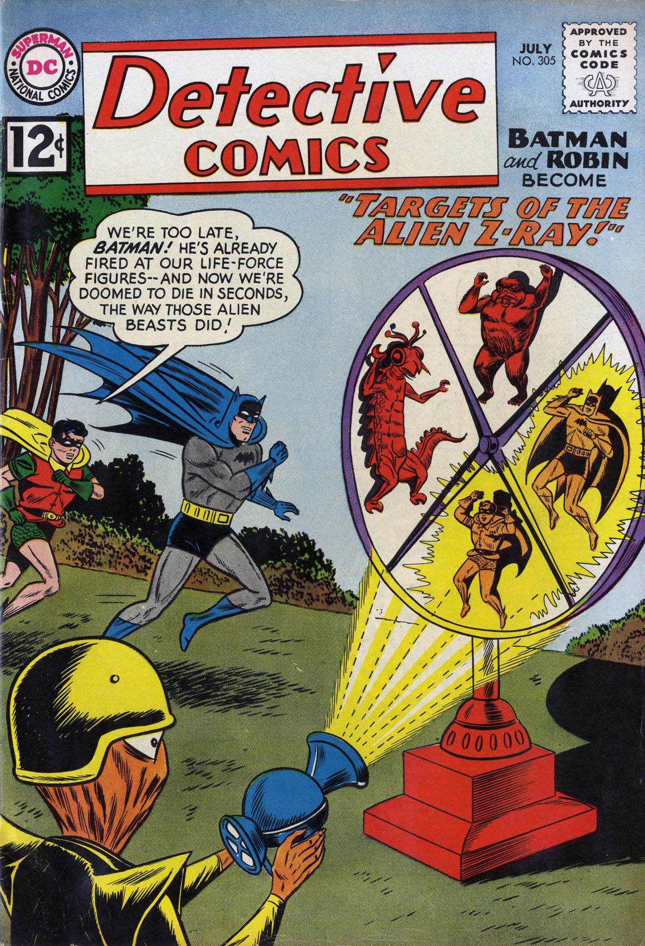 Detective Comics (1937) 305 Page 1