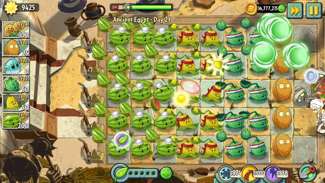 cheat plants vs zombie 2 android unlimited sun