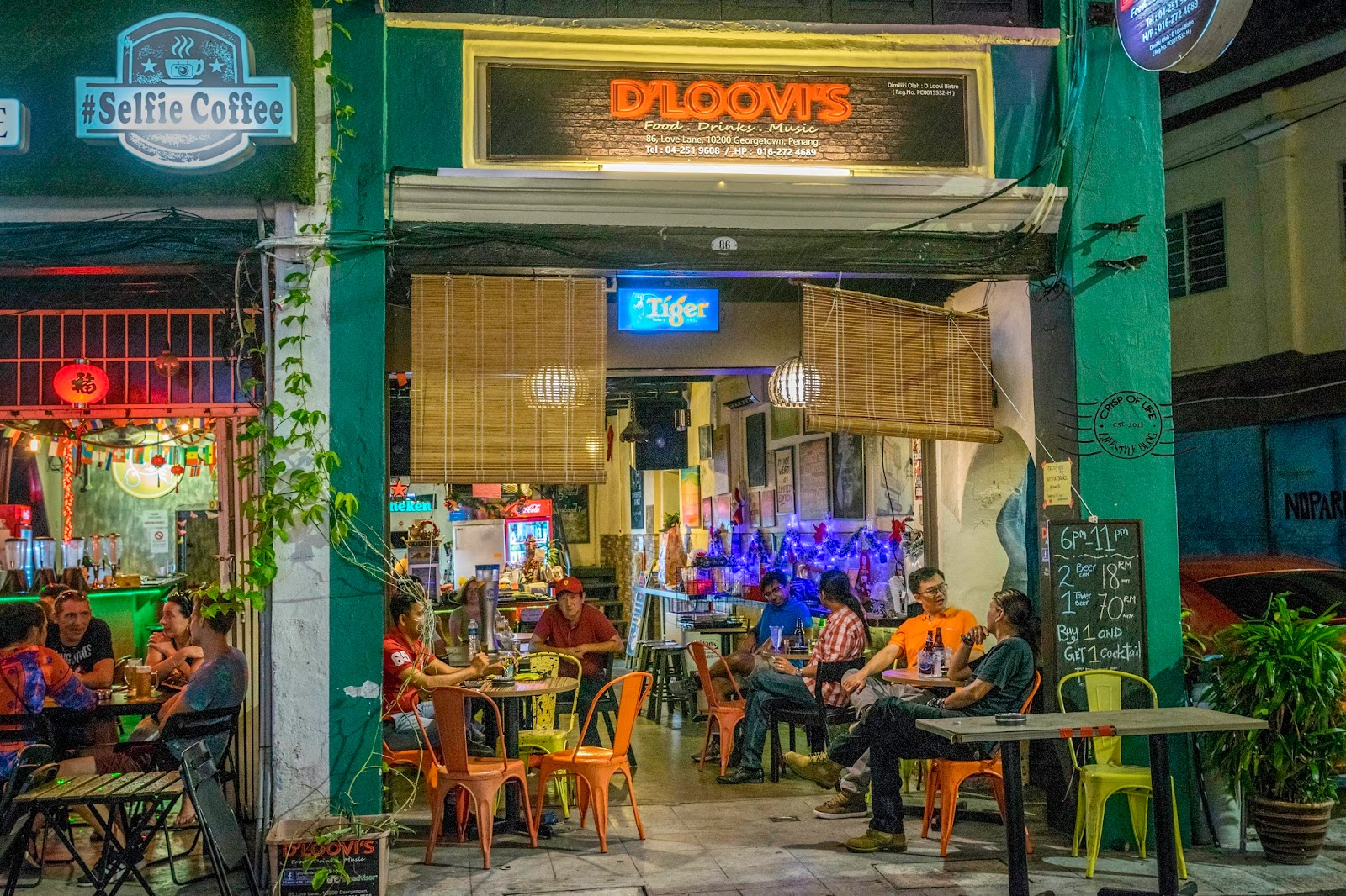 Top 10 Things to do in Love Lane Penang