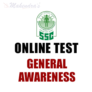 SSC CHSL Online Test For General Awareness : 12 - Jan- 18