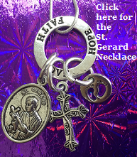 Saint Gerard Necklace For Conception