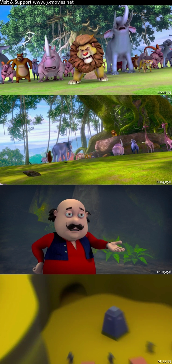 Motu Patlu King of Kings 2016 Hindi 480p DVDRip