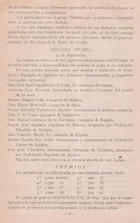 Programa del Torneo Internacional de Ajedrez Barcelona 1929 (3)