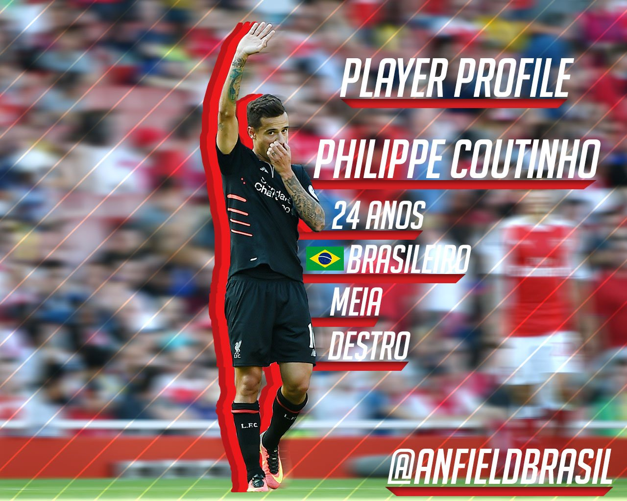 20900fe4ee PLAYER PROFILE  O MÁGICO PHILIPPE COUTINHO ~ Anfield Brasil