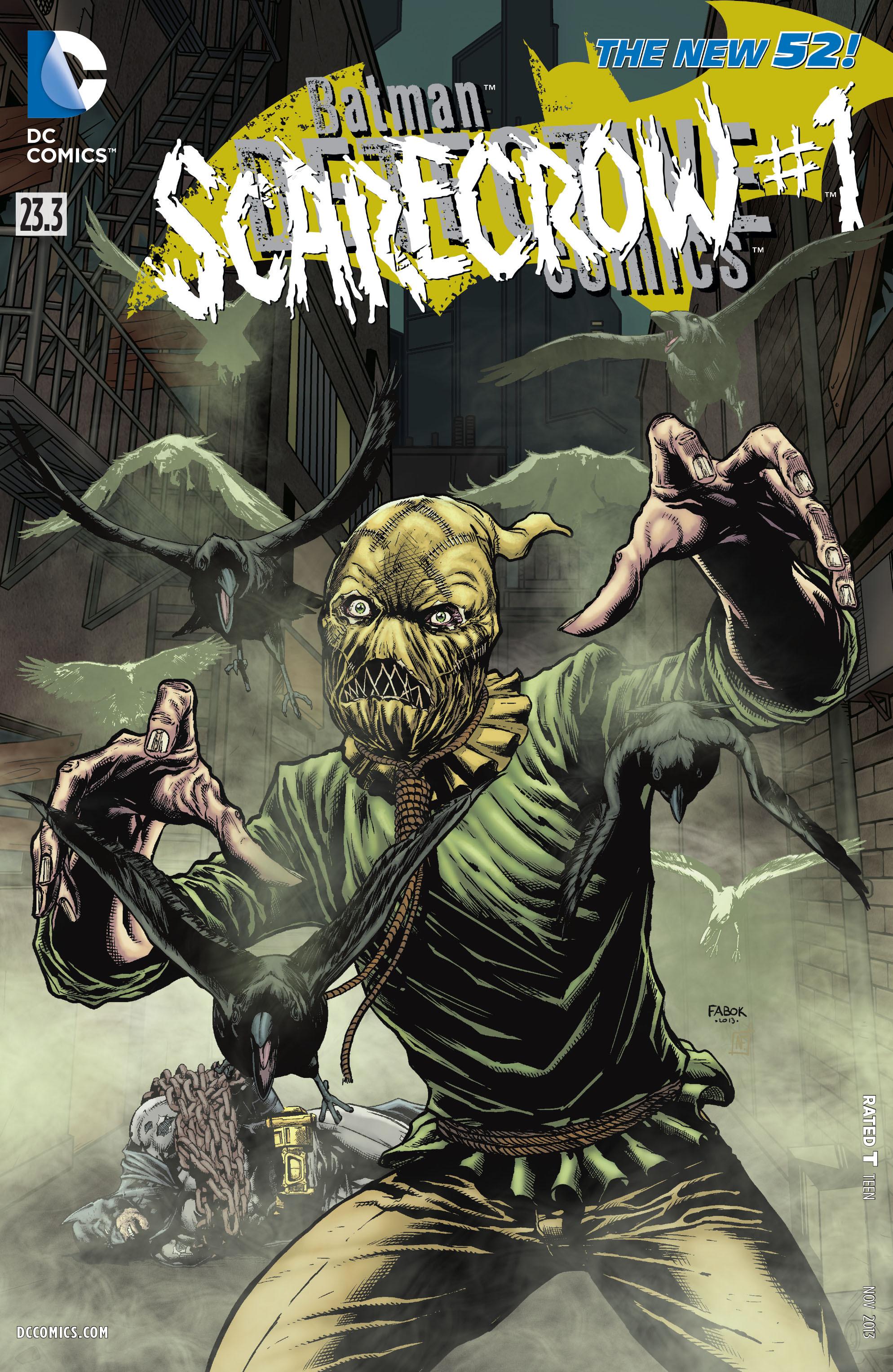 Detective Comics (2011) 23.3 Page 1