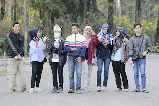 Jadi Baru Kebumen 2018 Tour To Bandung, Best Momen- foto bersama di kawah putih bandung