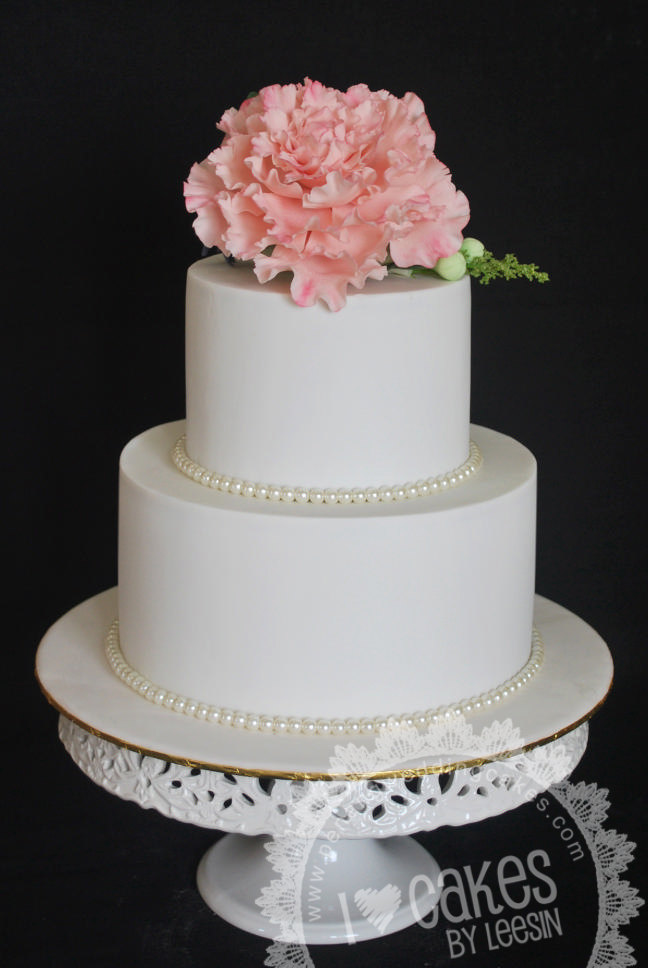 wedding cake penang penang wedding cakes by leesin another peony wedding cake 23405