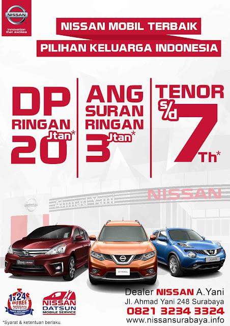 Promo DP Angsuran Ringan Nissan Surabaya