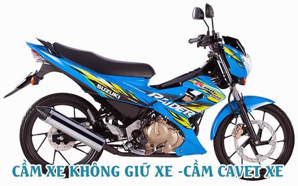 Cầm Cavet xe máy chính chủ tại TPHCM