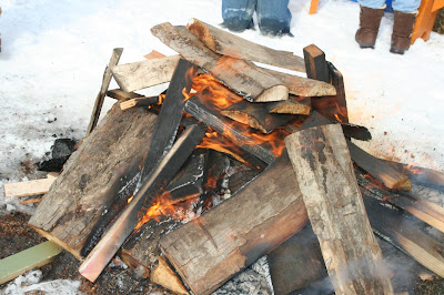 Bonfire to warm things up at Historic Pithole City