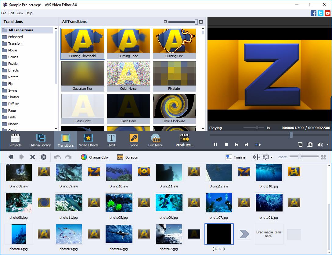 AVS Video Editor 9.0.3.333