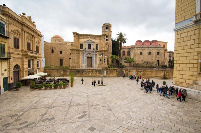 Chiesa di San Cataldo e Chiesa di Santa Maria dell'Ammiraglio (La Martorana)-Palermo