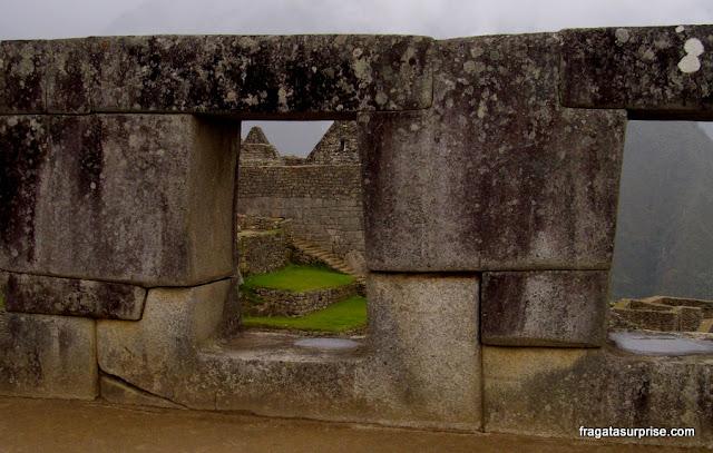 Templo das Três Janelas de Machu Picchu