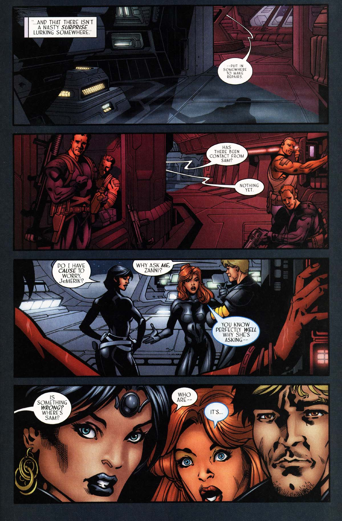 Read online Sigil (2000) comic -  Issue #29 - 16