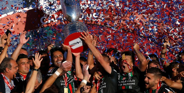 La final de Copa Chile se celebró... hasta en Palestina!