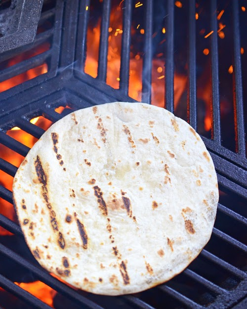 fajitas, grilled tortilla