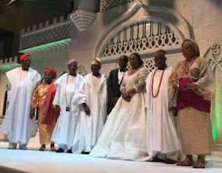 photos from olusegun obasanjo's son's wedding