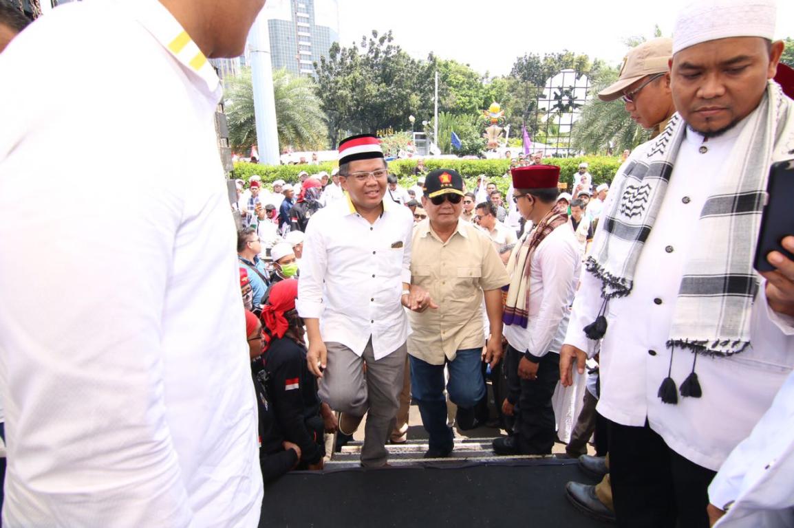 Mengapa Demokrat Tidak Tampak Saat Deklarasi Prabowo?