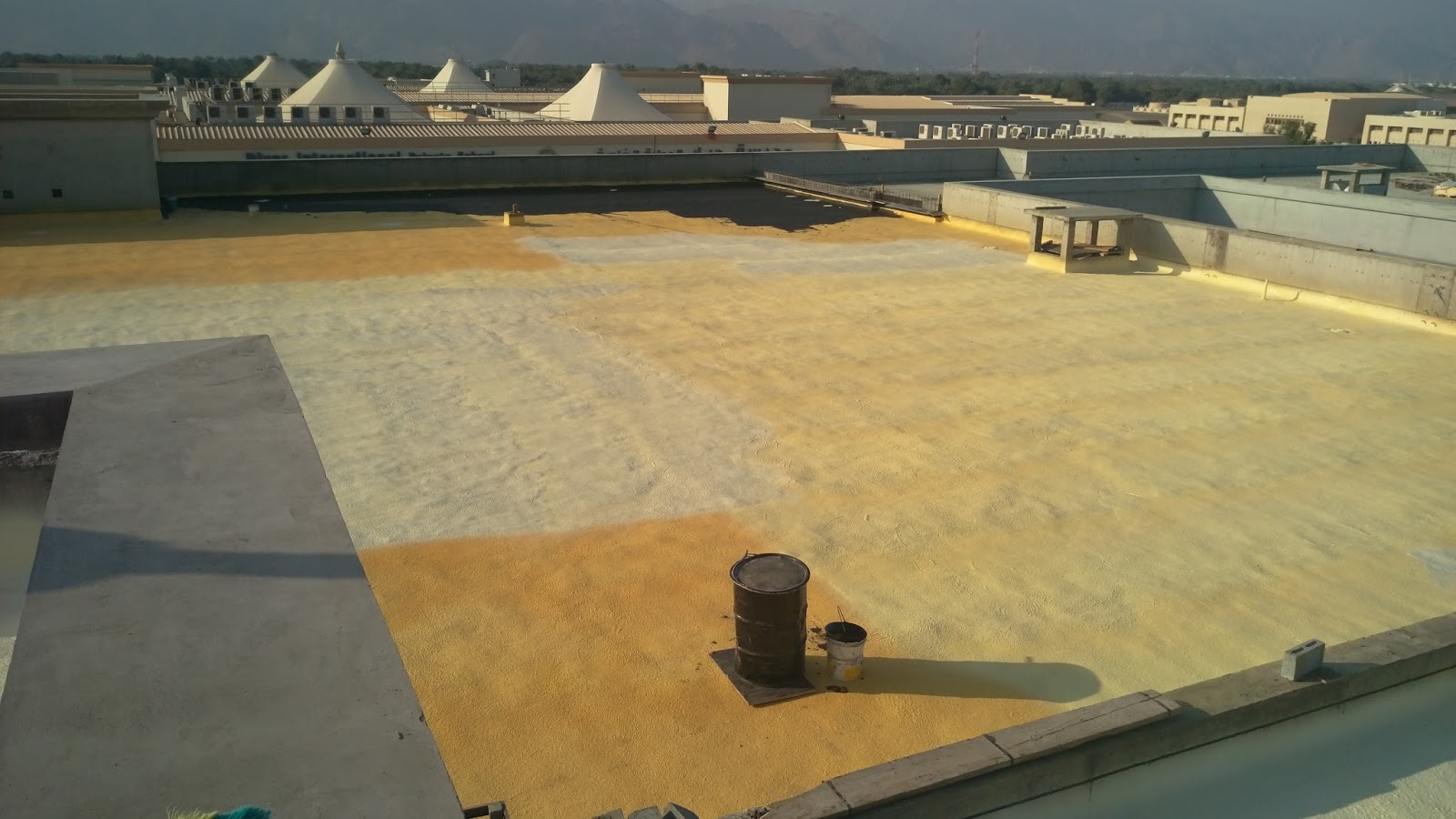 Mr Sameh Al Werdany Combo Roof Waterproofing System