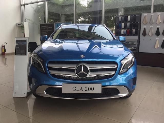 Mercedes GLA200 màu xanh 02