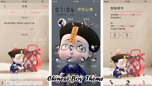 VIVO Smartphone Theme: Chinese Boy Theme - RQA WORLD