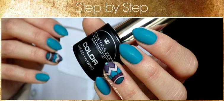 Step by step nails | paznokcie krok po kroku | tutorial paznokciowy |