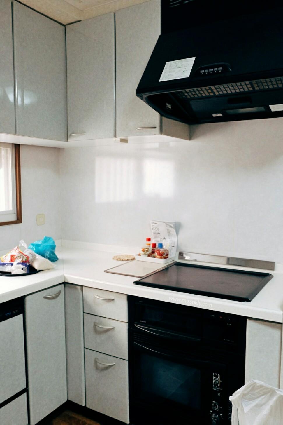 airbnb untuk enam orang di osaka