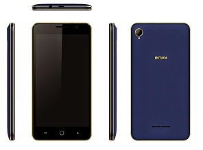 New Launch INTEX AQUA POWER SMART MOBILE PHONE BLUE + Android 4.4.2 KitKat +1.4 Ghz Octa Core for Rs.7599 Only @ ebay