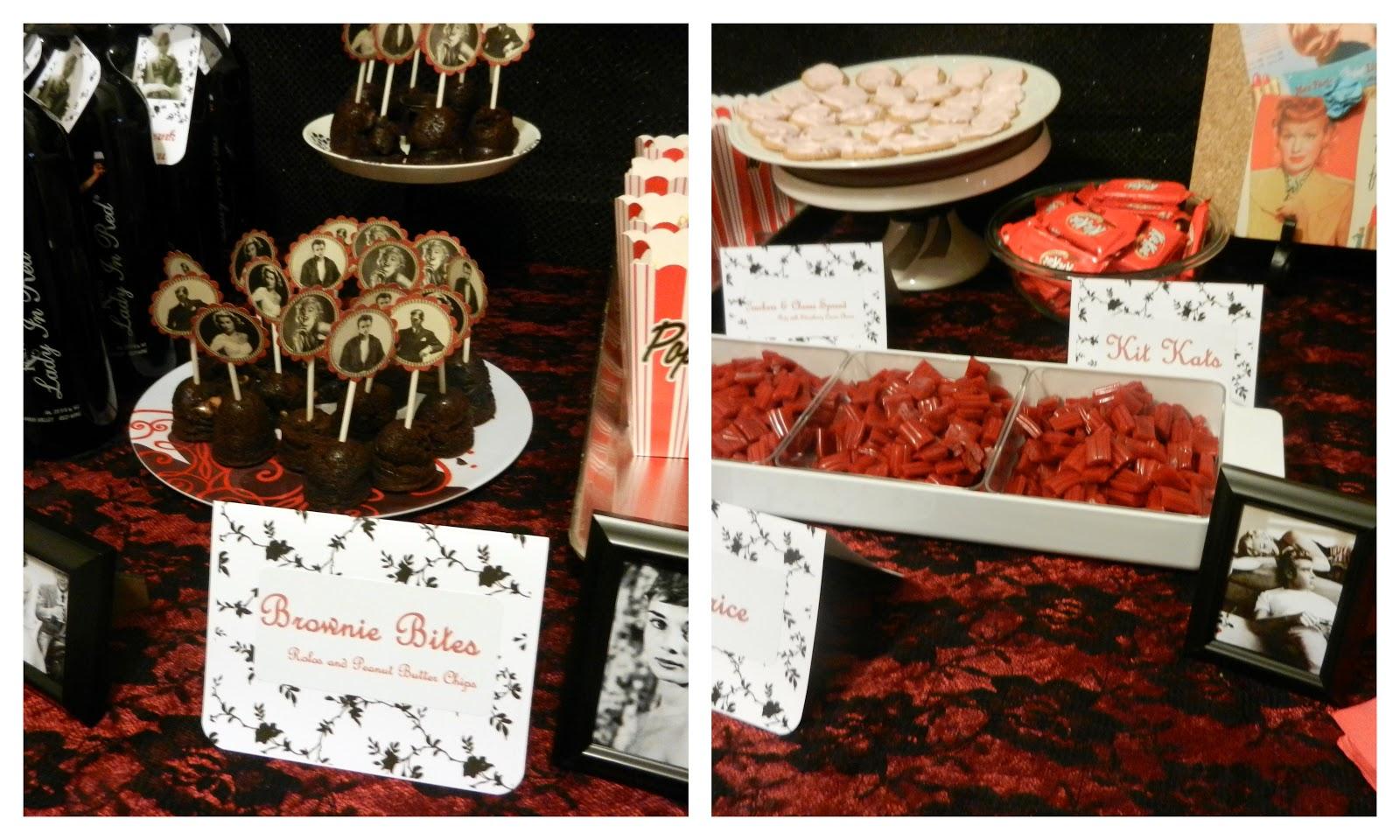 Red Carpet Movie Party Birthday Party Ideas   Movie night ...   Hollywood Theme Food Menu