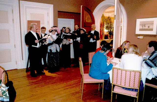 Carolling in Rideau Hall